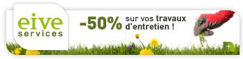 -50% sur de deduction d'impots sur vos travaux d'entretien